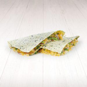 Veģetārā quesadilla